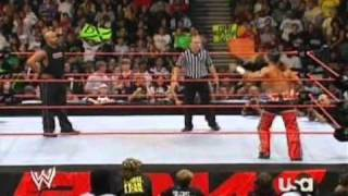 Shawn Michaels vs. Johnathan Coachman WWE Raw Single Match 24.07.2006