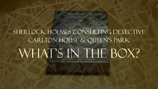 Sherlock Holmes Consulting Detective: Carlton House & Queen's Park - What's in the box?