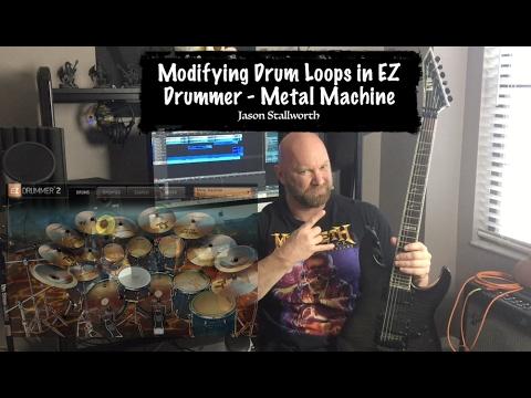 how to modify drum loops in ez drummer metal machine youtube. Black Bedroom Furniture Sets. Home Design Ideas