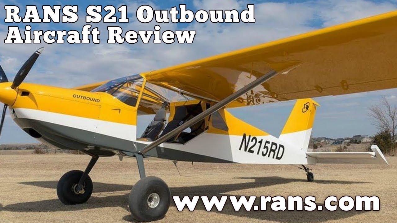 RANS S21, RANS S 21 Outbound, LSA/ELSA or experimental aircraft, RANS  Designs