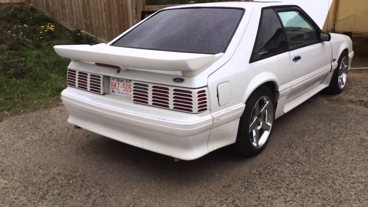 89 Mustang Fox Body Gt40 Heads B Cam Idle Youtube