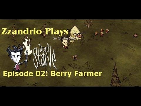 Zzandrio Plays Don't Starve - Berry Farmer - Episode 02