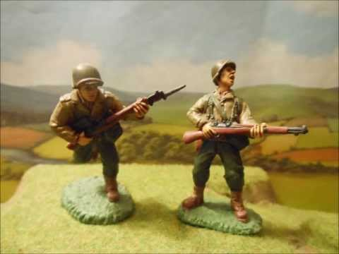 Toy soldier review - Painted plastics