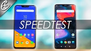 Zenfone 5z vs OnePlus 6 Speedtest - New King???