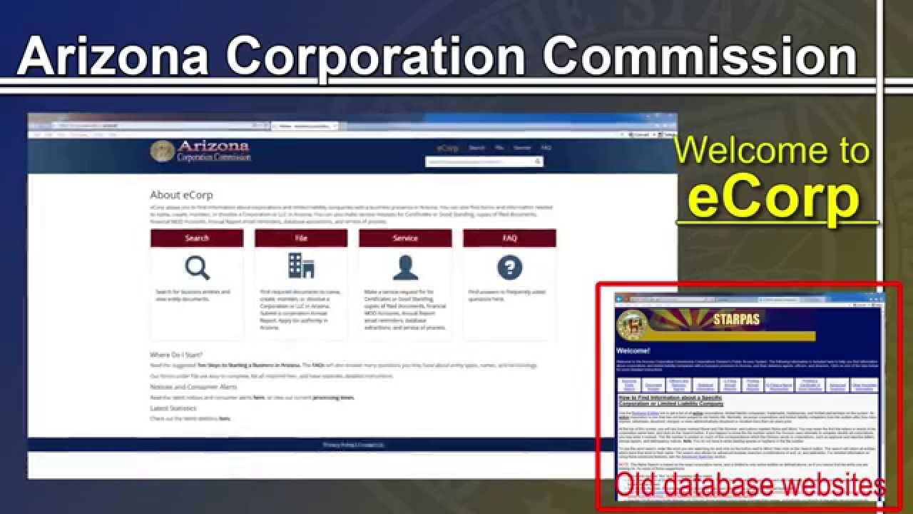 Arizona Corporation Commission - YouTube