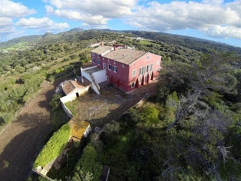 Antigua mansión en venta en Menorca (Old mansion for sale)