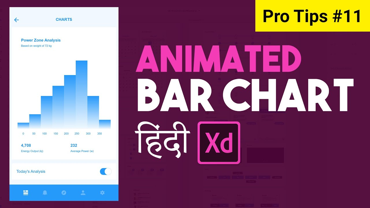 Bar Chart animation in Adobe XD, Auto animation PRO TIP 11