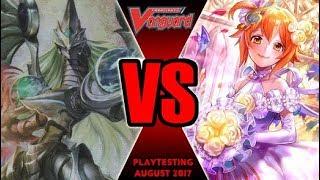 Messiah Vs Lauris Bermuda - Cardfight Vanguard Playtesting August 2017