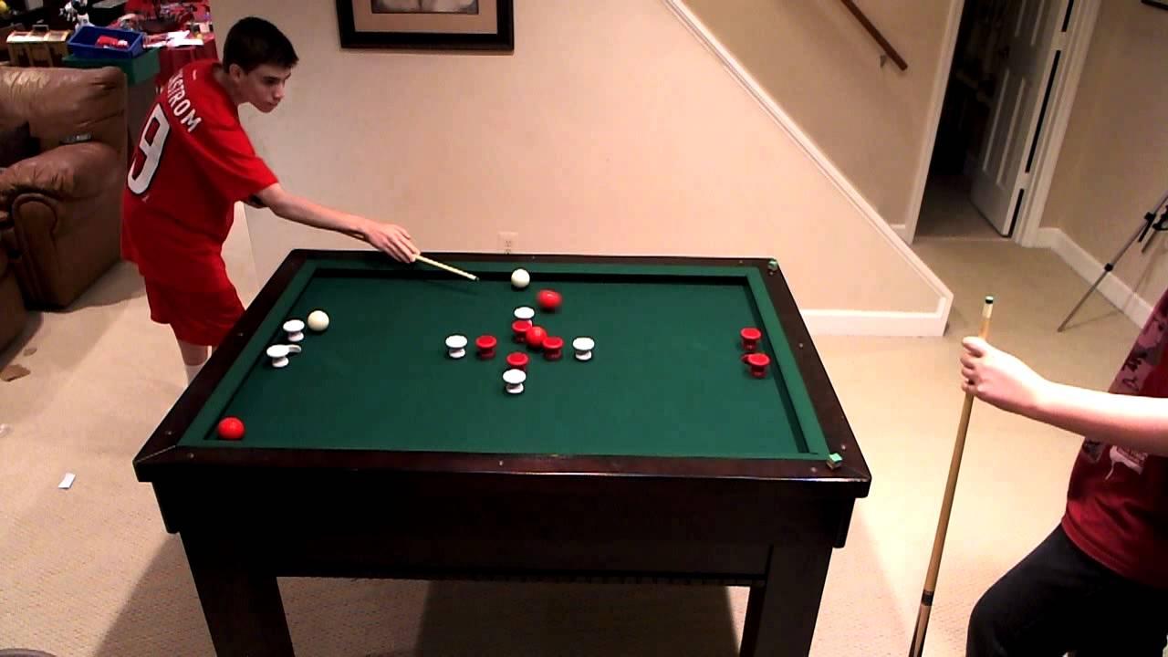 Bumper pool game 2 matt vs will youtube - Bumper pool bumpers ...