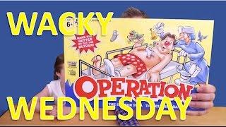 Wacky Wednesday  Episode 3  Operation Game by Hasbro
