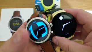 Fossil Q Explorist Vs Movado Connect Premium Smartwatch Comparison with a BONUS