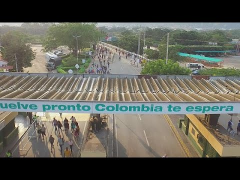 Venezuela exodus: thousands flock to Colombia in search of f