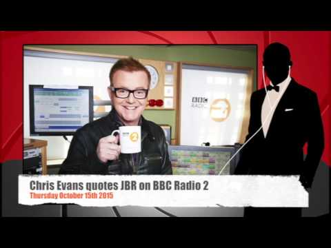 Chris Evans quotes James Bond Radio on BBC Radio 2