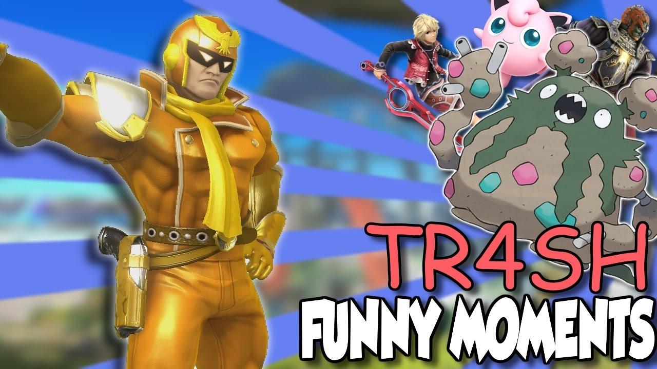 Download Smash 4 Hacked - Tr4sh! Everyone is Hilariously Broken!! (Part 1)