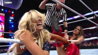 720pHDTV - WWE Superstars 01/12/2012 Kelly Kelly vs. Brie Bella