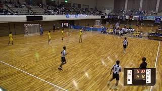 8日 ハンドボール男子 あづま総合体育館 Aコート 香川中央×北陸 準々決勝 2