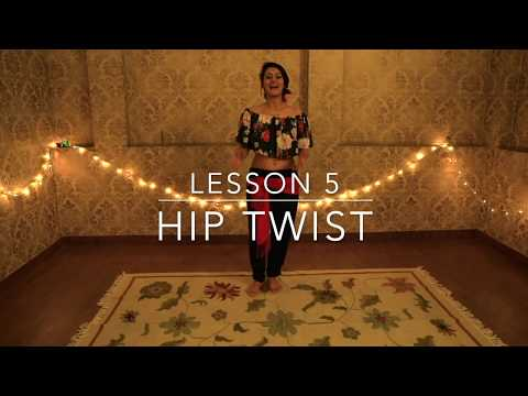 Belly Dance Tutorial For Beginners!! How to Do A Hip Twists | Lesson 5 with Meher Malik