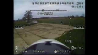 stock AXN floater jet  153 kmh via fpv with Feiyutech  hornet osd gps current sensor