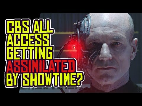 CBS All Access To Be ASSIMILATED Into Showtime Streaming App?!