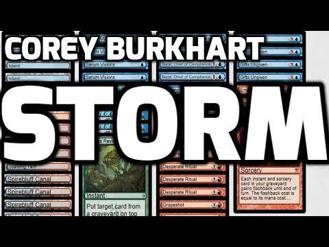 Channel Corey - Modern Gifts Storm (Deck Tech & Matches)