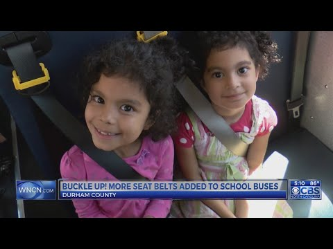 9 Durham Public Schools buses now have seat belts as pilot program gets underway