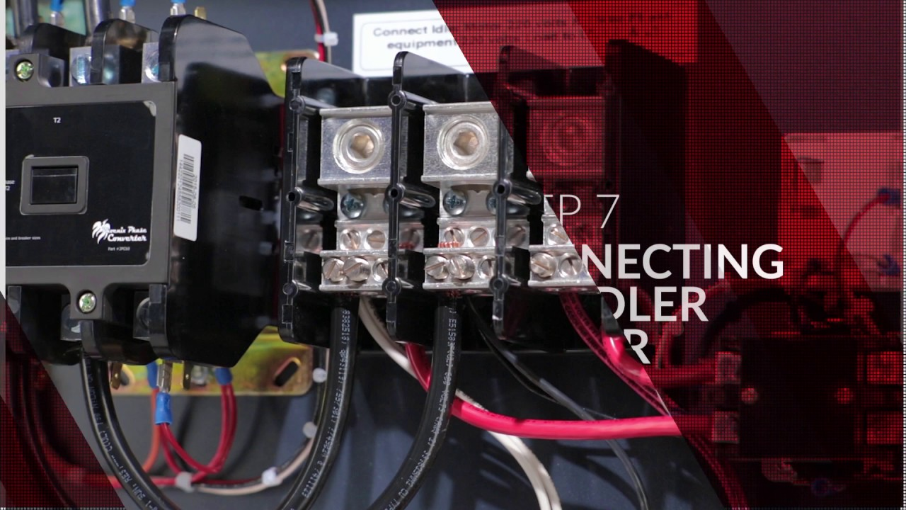 hight resolution of installation video rotary phase converter phoenix phase converters installation video rotary phase converter phoenix phase converters