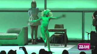 Sia - Chandelier (Live at We Can Survive, Hollywood Ball) SIA SHOWED HER FACE FINALLY!!!