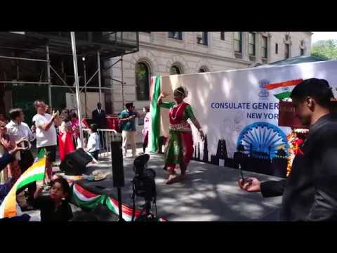 Indian Consulate New York City NYC 2019 August 15 - Real Sounds Unedited