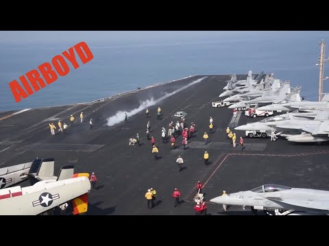 Flight Operations - USS Dwight D. Eisenhower (CVN-69)