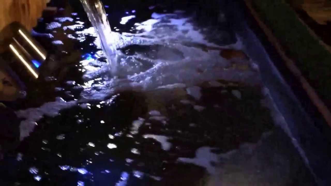 Koi pond lighting youtube for Koi pond lights
