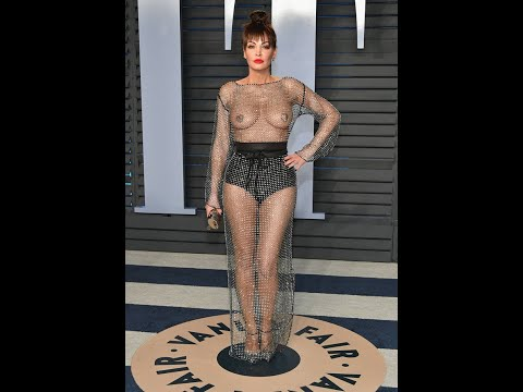 Naked is the new normal: Oscars babe shocks with nipple pastie exposing gown thumbnail