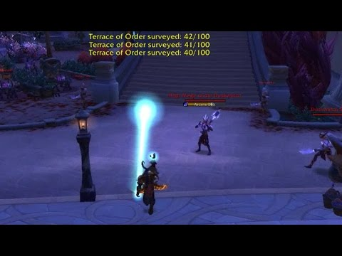 World of Warcraft Survey the City Legion Quest Guide