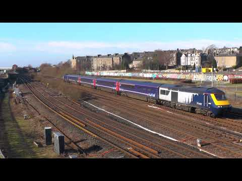 ScotRail 7 cities HST