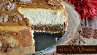 How to Make a Pecan Pie Cheesecake: Dessert Recipes
