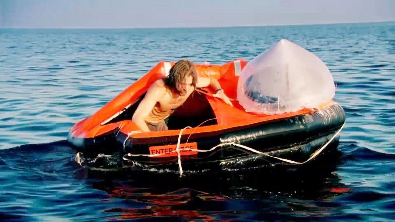 จะเป็นอย่างไรถ้าคุณติดอยู่ในทะเล..เหมือนเขาคนนี้