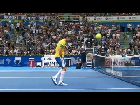 Gillette Federer Tour, Brazil 12/9