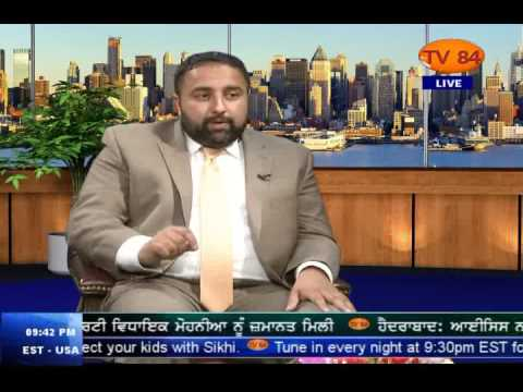 Inderjit Singh Bains (Republican Cand. From 164th District For PA House Of Representatives) On TV84