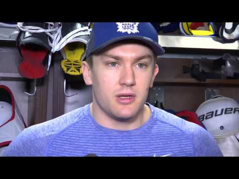 Maple Leafs Locker Clean Out: James van Riemsdyk - April 25, 2017