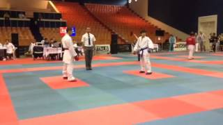 Halil Marqeshi  ( ALB ) 2 nd WSKU European Karate champions