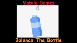 Balance The Bottle - Hard To Get A Good Highscore - Android & iOS Mobile Gameplay Game Review