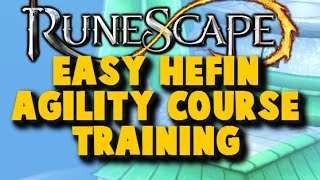 Runescape AFK Agility: Hefin Agility Course Without Moving Your Mouse - iAm Naveed Runescape 2015