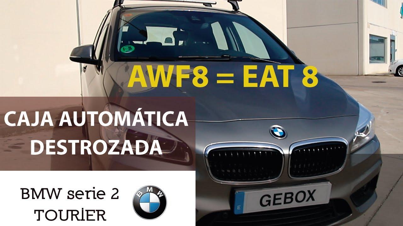 Caja automática EAT8 (AWF8) reventada BMW Serie 2 TOURIER | equipo #gebox.cajasdecambio | T2E7_2020