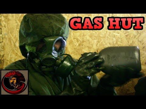 Gas Mask CBRN/NBC Training | TEAR GAS HUT!!