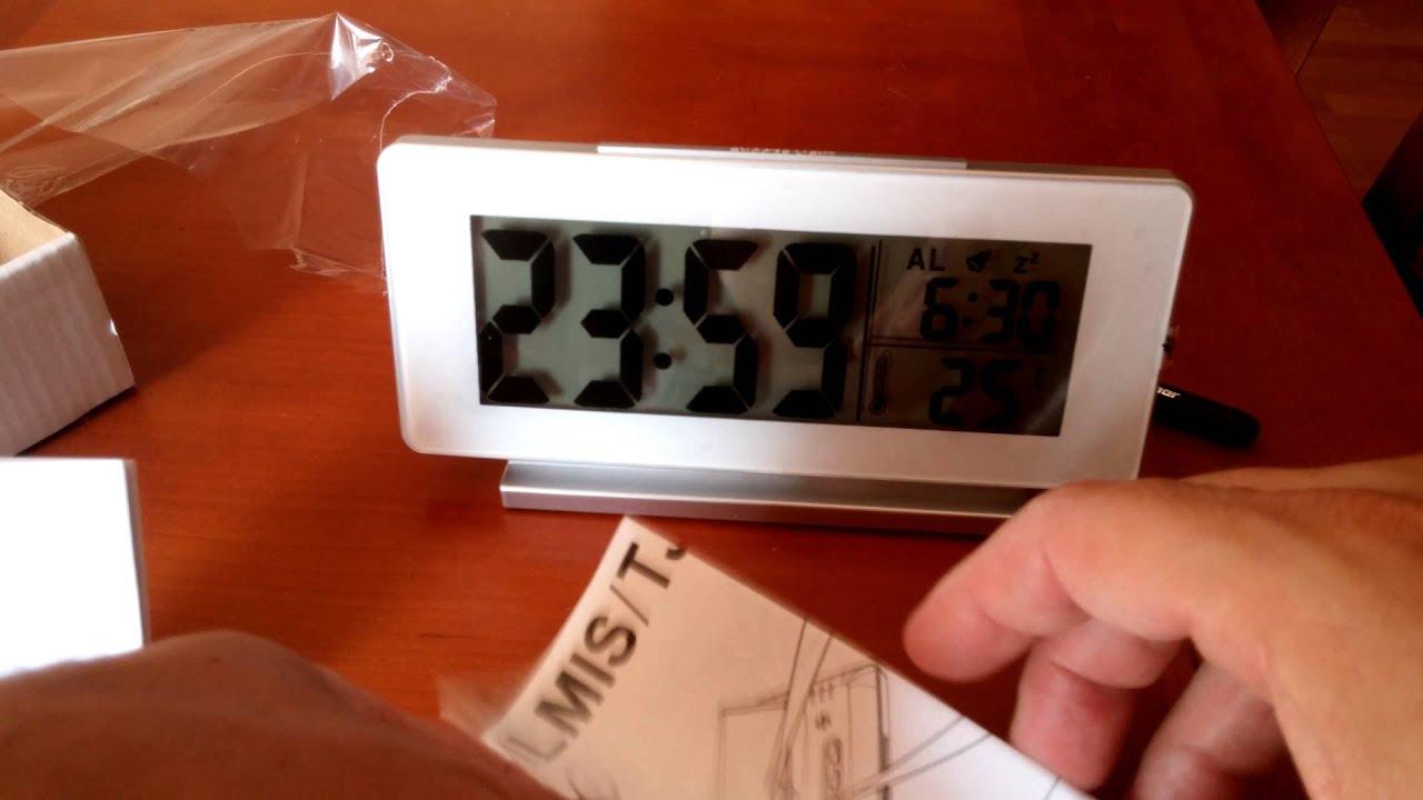 unboxing ikea digital clock tjenis clock thermometer alarm youtube rh youtube com Datid User Manual IKEA Instruction Sheet