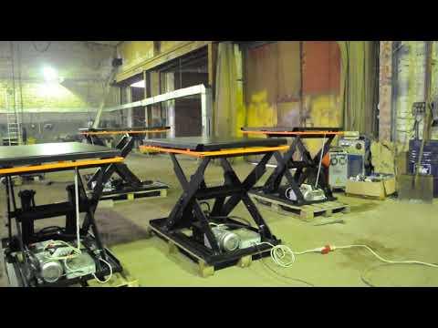 Подъемный стол Альфа-Техник видео