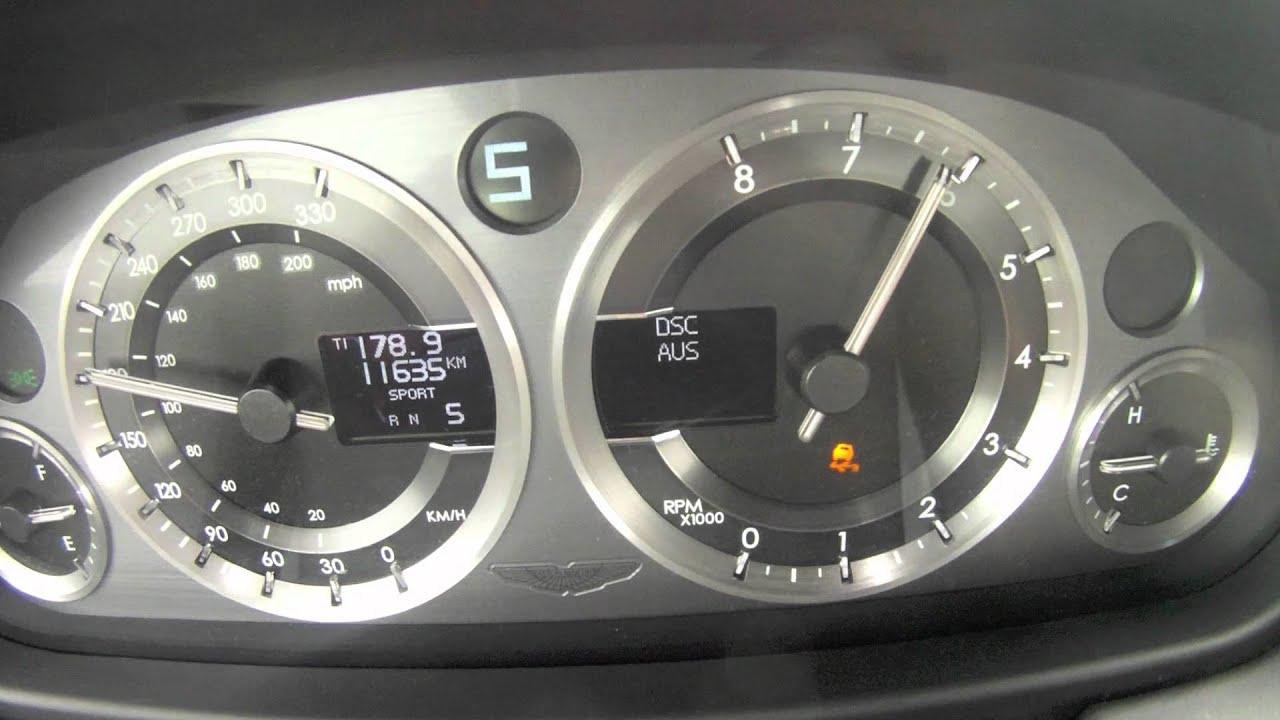 Aston Martin V8 Vantage S 0 295 Km H Motorsport Youtube