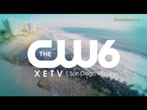 XETV-TDT - Sign on & CW6 News in the Morning open (2017)