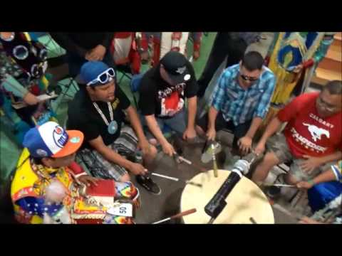 Siksika Pow Wow Drums - Blackfoot Confederacy