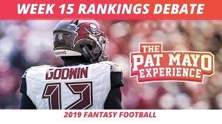 2019 Fantasy Football Week 15 Rankings Breakdown — Start, Sit, Sleepers & Debate