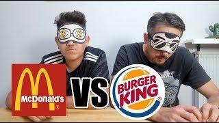 MC DONALDS VS BURGER KING!!